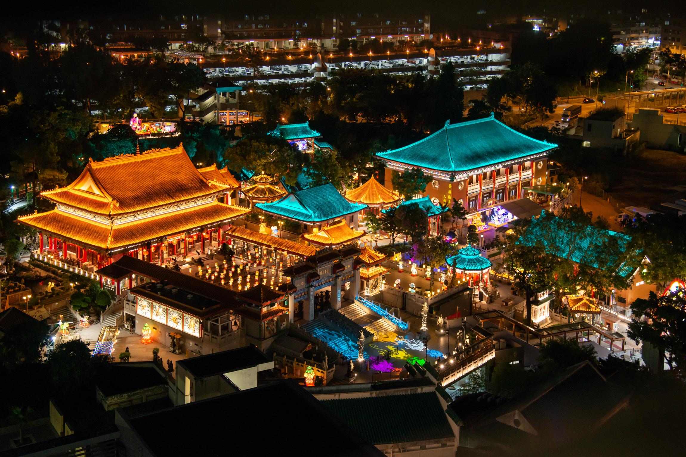 香港中秋最美燈飾2021