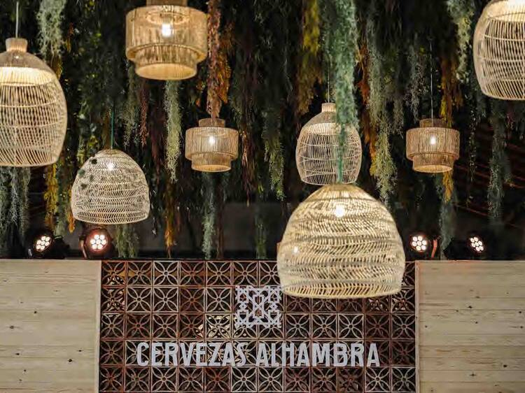 Jardín Cervezas Alhambra vuelve con todo un mes de planes de ocio