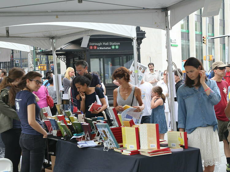 Turn out to the Brooklyn Book Festival