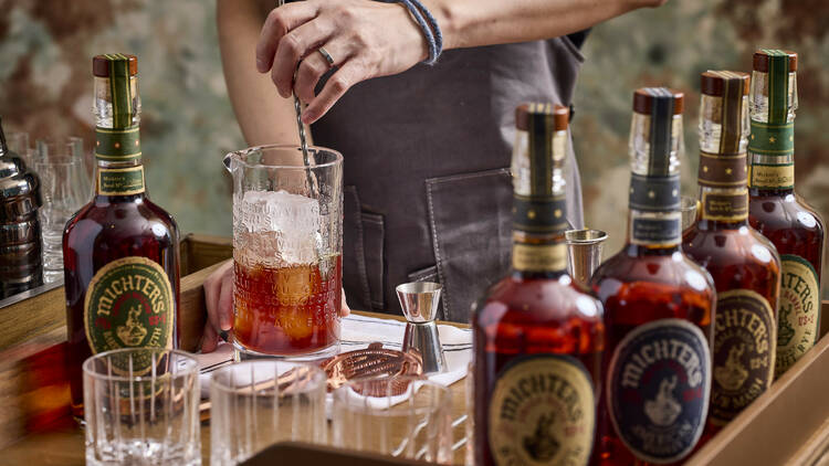 Hue x Michter's Whiskey limited-time Supper Menu