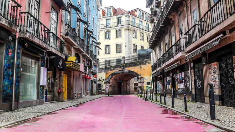 Rua Cor de Rosa, Cais do Sodré