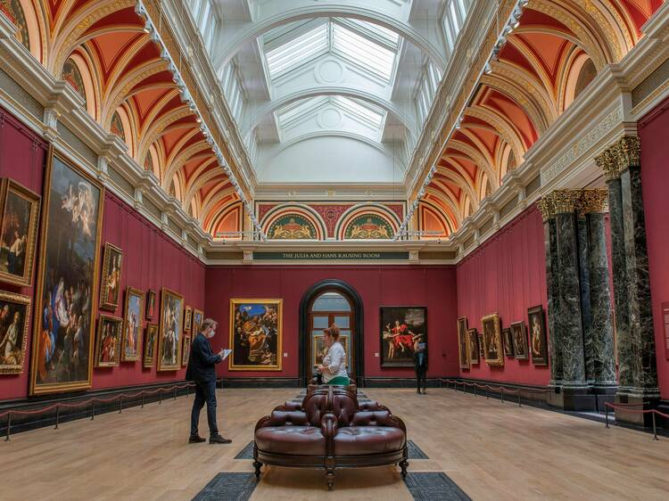 Cold outside? Get cosy and cultured at these London galleries