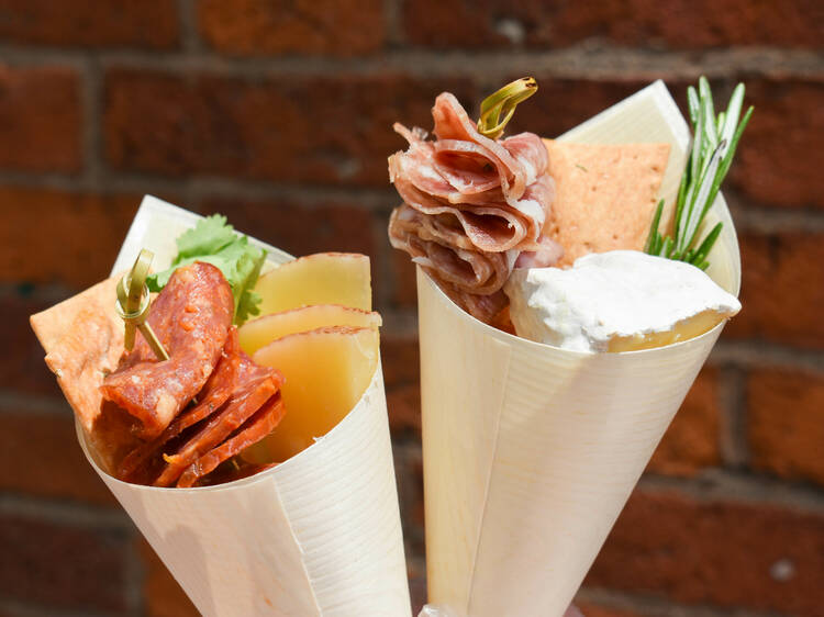 Kured brings charcuterie cones to Time Out Market Boston