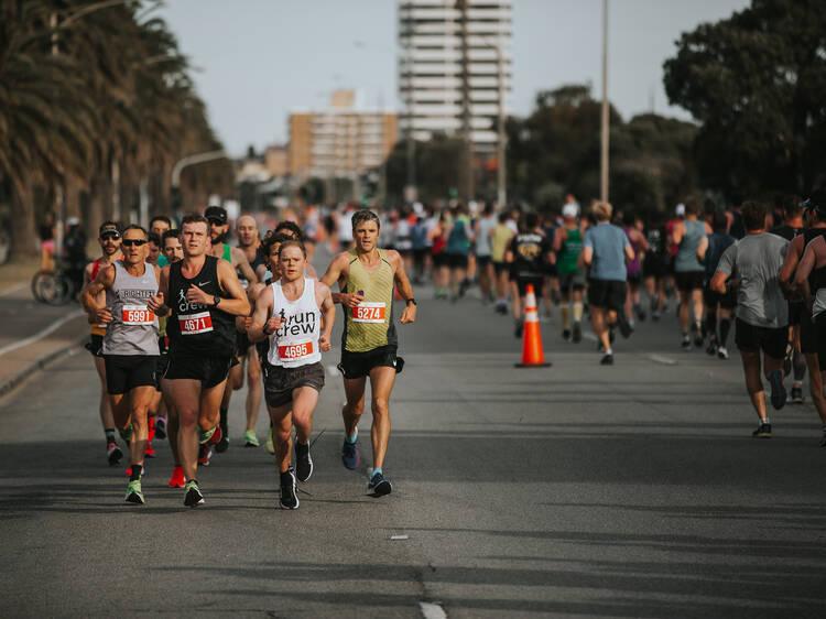 Start training for the Nike Melbourne Marathon Festival