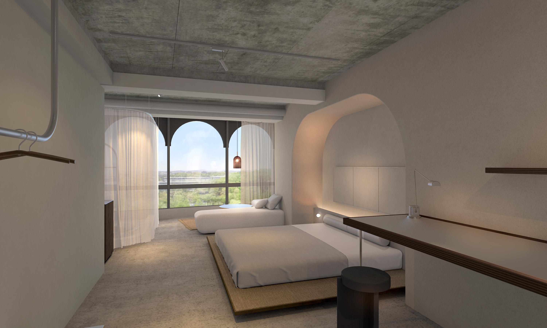 地元資源のアロマと芳香水でくつろぐ、蒸留所併設ホテルが金沢にオープン