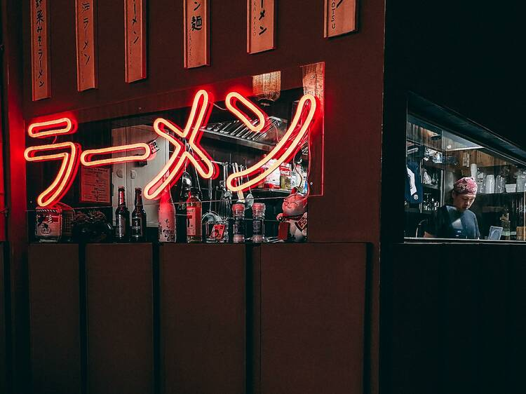 Neotokyo, a Japanese noodle bar with cyberpunk vibes, is coming to Montreal this winter