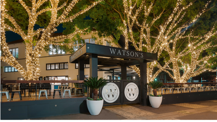 The new Watson's pub at the Entertainment Quarter