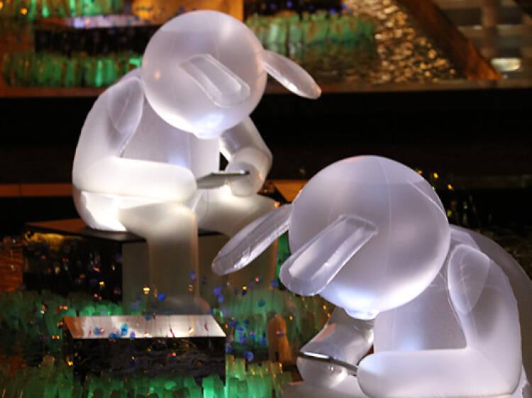 康文署中秋燈飾