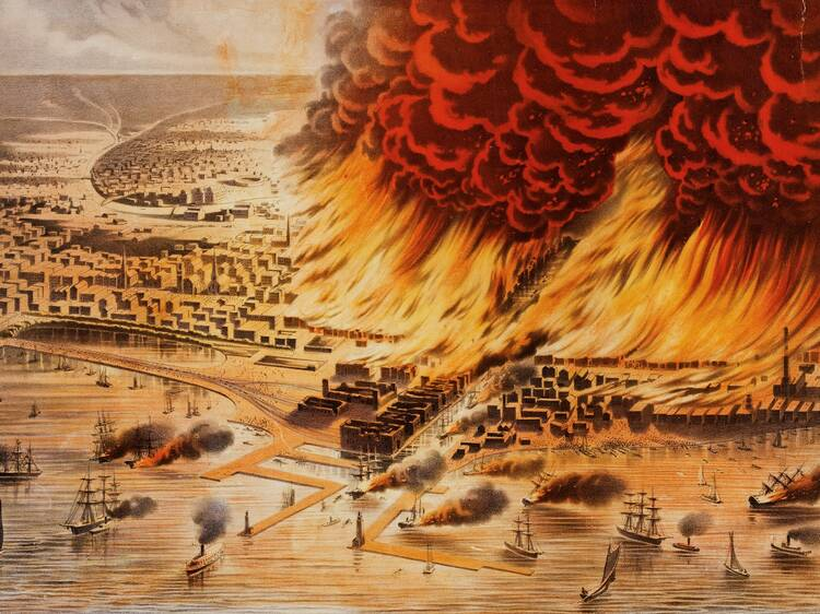 """""""City on Fire: Chicago 1871"""""""