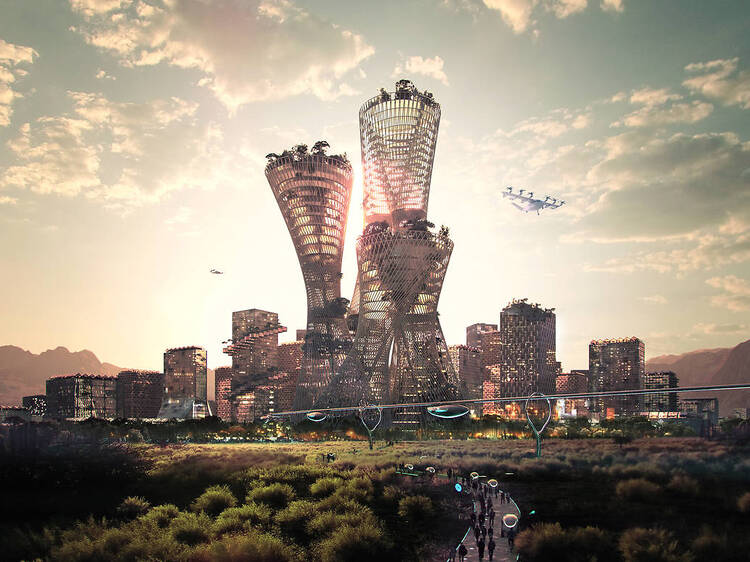 A huge new city is being built in the US desert – but is it just greenwashing?