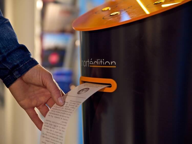 A free short story dispenser
