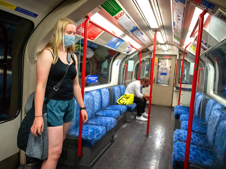 There's an increase in the number of people getting injured on the tube