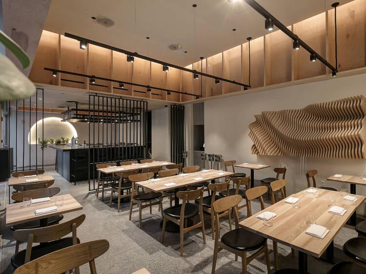 Get incredible tempura and sukiyaki at Chikarashi Isso