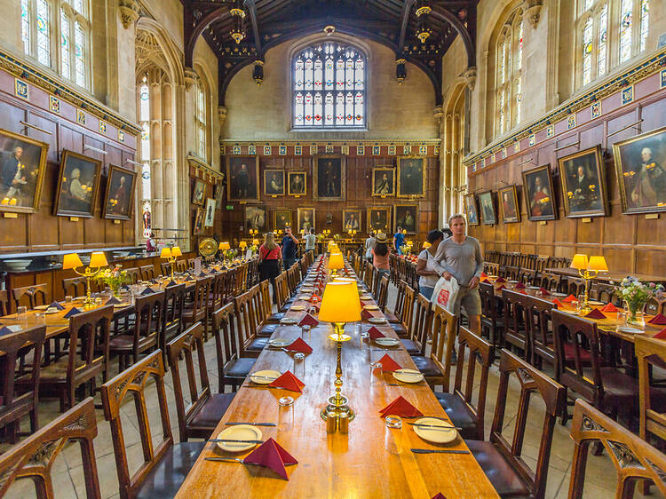 Follow in Alice's footsteps at Christ Church