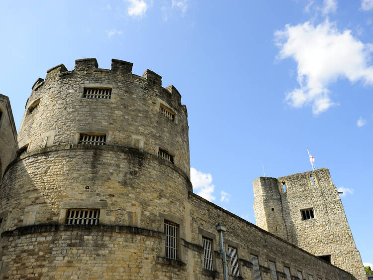 Delve into history at Oxford Castle and Prison