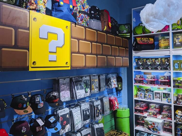 Obre la primera botiga inspirada en l'univers Nintendo a Barcelona