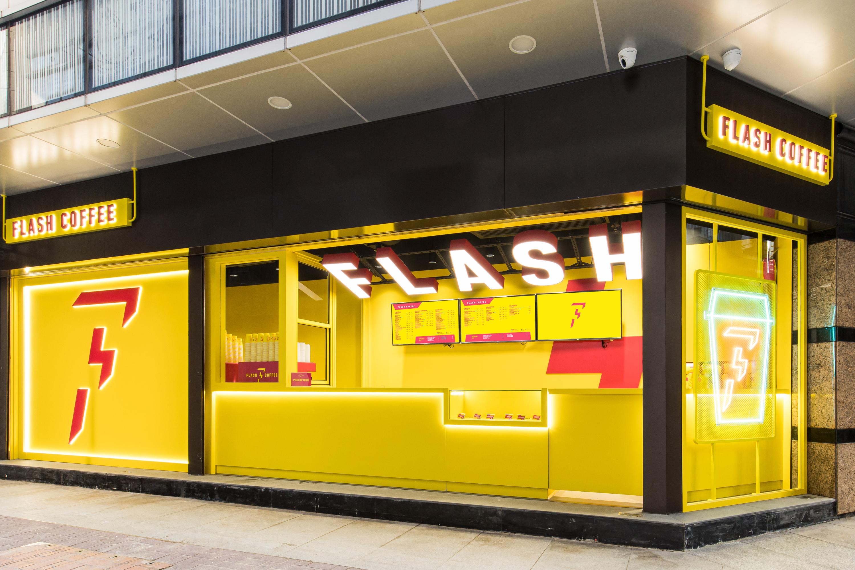 Tech-enabled Flash Coffee makes its Hong Kong debut in Sheung Wan