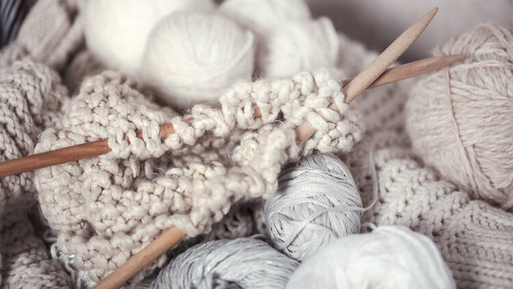 Tejer, lana, crochet