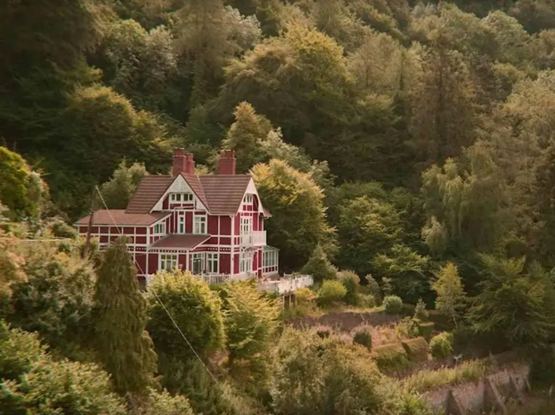 You can rent Otis and Jean's house from 'Sex Education'