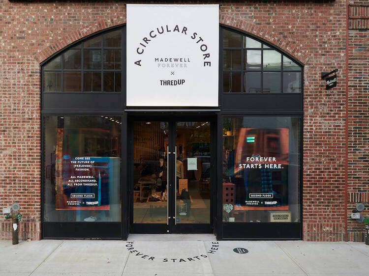 A new 'circular store' is combating fast fashion in Brooklyn