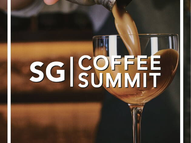 コーヒーカクテル・フェスティバル「SG Coffee Summit」
