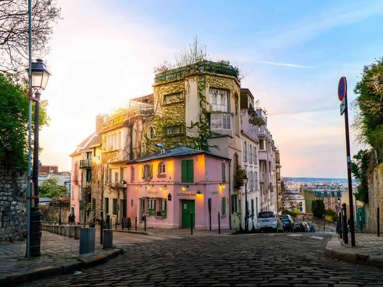 La butte Montmartre en passe de devenir entièrement piétonne
