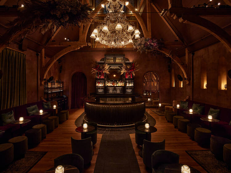 New members-only NYC bar is located in a historic 19th-century church