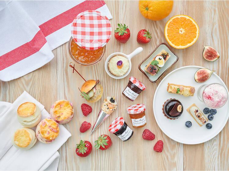 香港嘉里酒店 x Bonne Maman「法式經典田園果味」下午茶