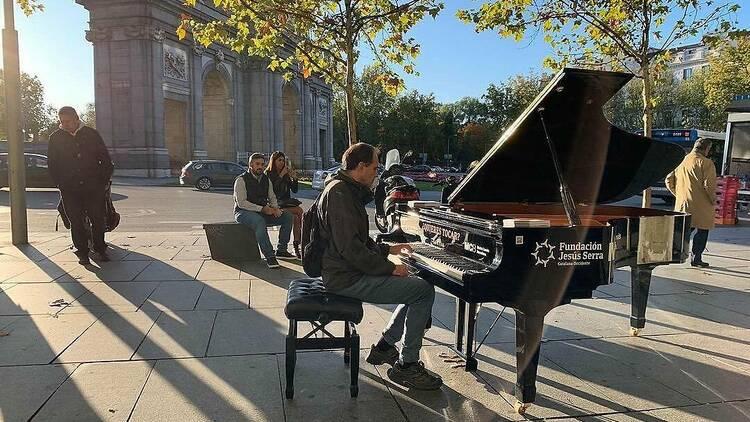 Pianos de cola en Madrid