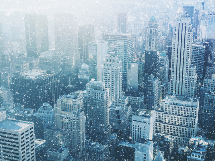 Old Farmer's Almanac predicts a cold, snowy winter for NYC