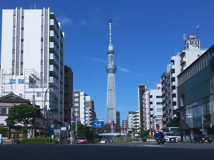 東京スカイツリー® 周辺散策フリーきっぷ
