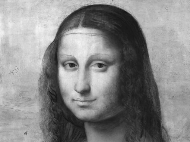 Leonardo y la copia de Mona Lisa (Museo del Prado)