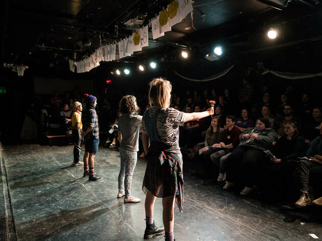 Neo-Futurists perform the Infinite Wrench