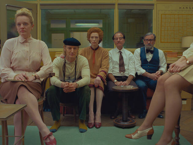 There's a brilliant-looking show devoted to Wes Anderson's 'The French Dispatch'