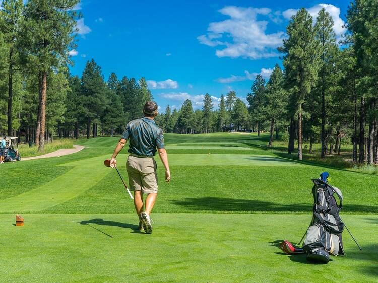Play a few rounds at these public golf courses