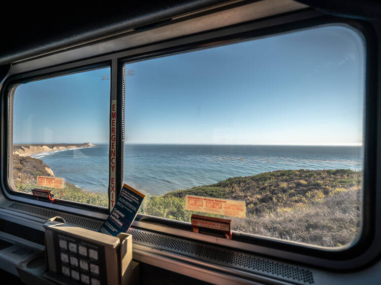 Coast Starlight from Seattle to Los Angeles, USA