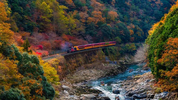 Kyoto Sagano railway