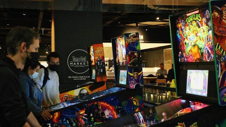 Arcade, North Star Machines à Piastres x Time Out Market Montréal