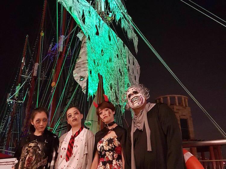 Celebrate Halloween aboard the Royal Albatross