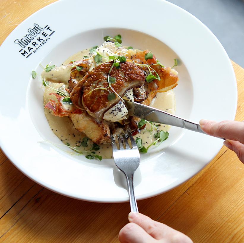Le Passé Composé now serves brunch all day with a new kitchen at Time Out Market Montréal