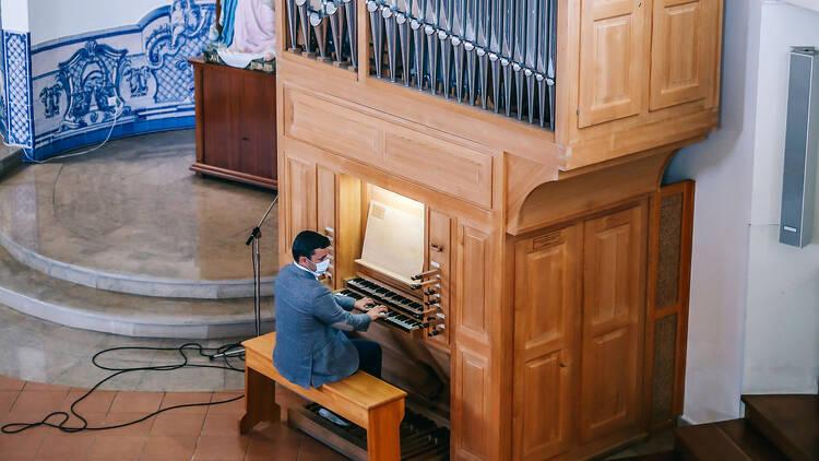 Música, Organista, Diogo Rato Pombo