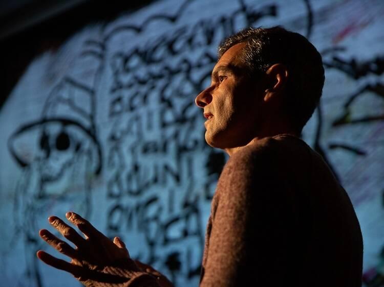 Aprender sobre a história do graffiti
