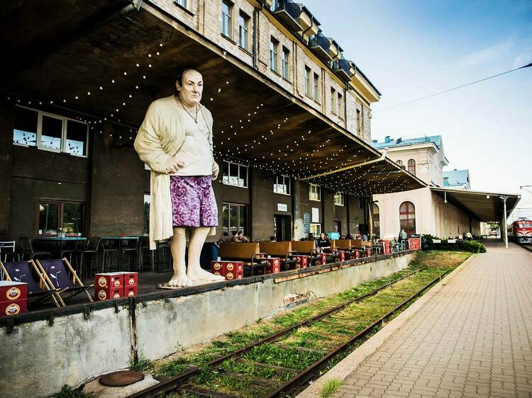 Station District, Vilna
