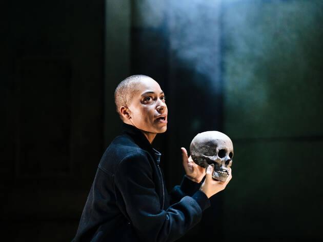 Hamlet, Cush Jumbo, Young Vic, 2021