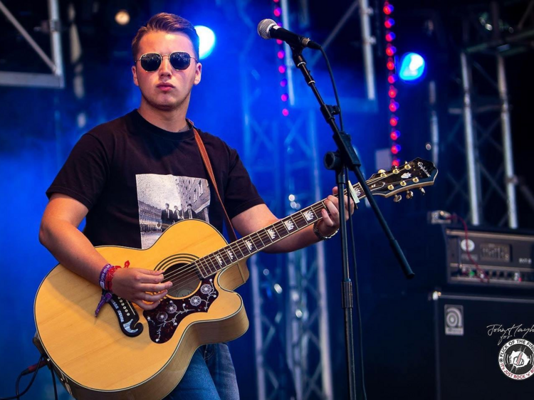 Joe Slater is bringing his fresh rock 'n' roll to King's Cross