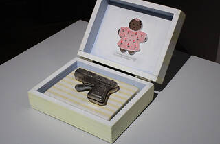 Renée Stout, Baby's First Gun, 1998.