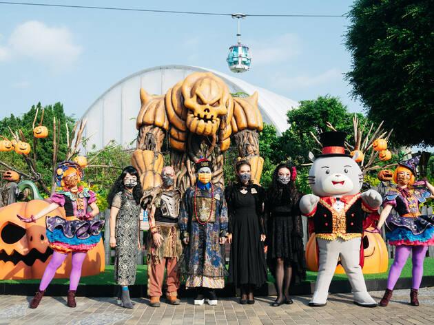 Ocean Park Hong Kong halloween 2021
