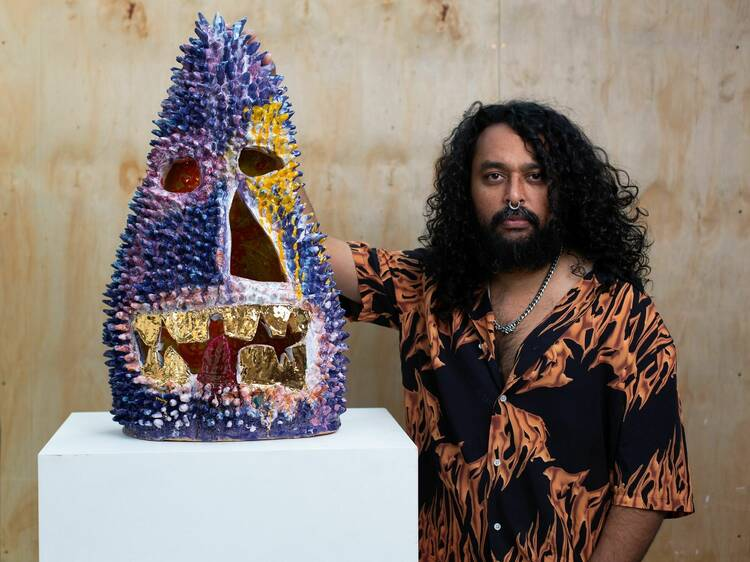 Check out new work from Sydney's most exciting contemporary artist