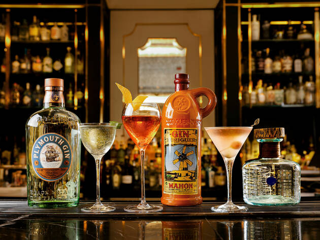 The Langham, Hong Kong's Artesian bar launches a Gin'finity Journey this October