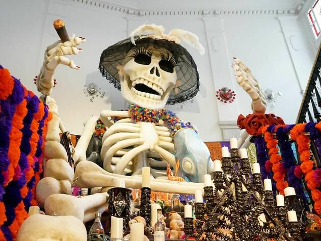 Altar de muertos 2021 (Casa de México)